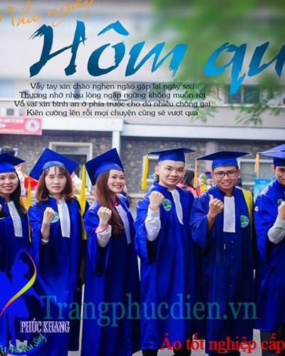 Áo tốt nghiệp cấp 3